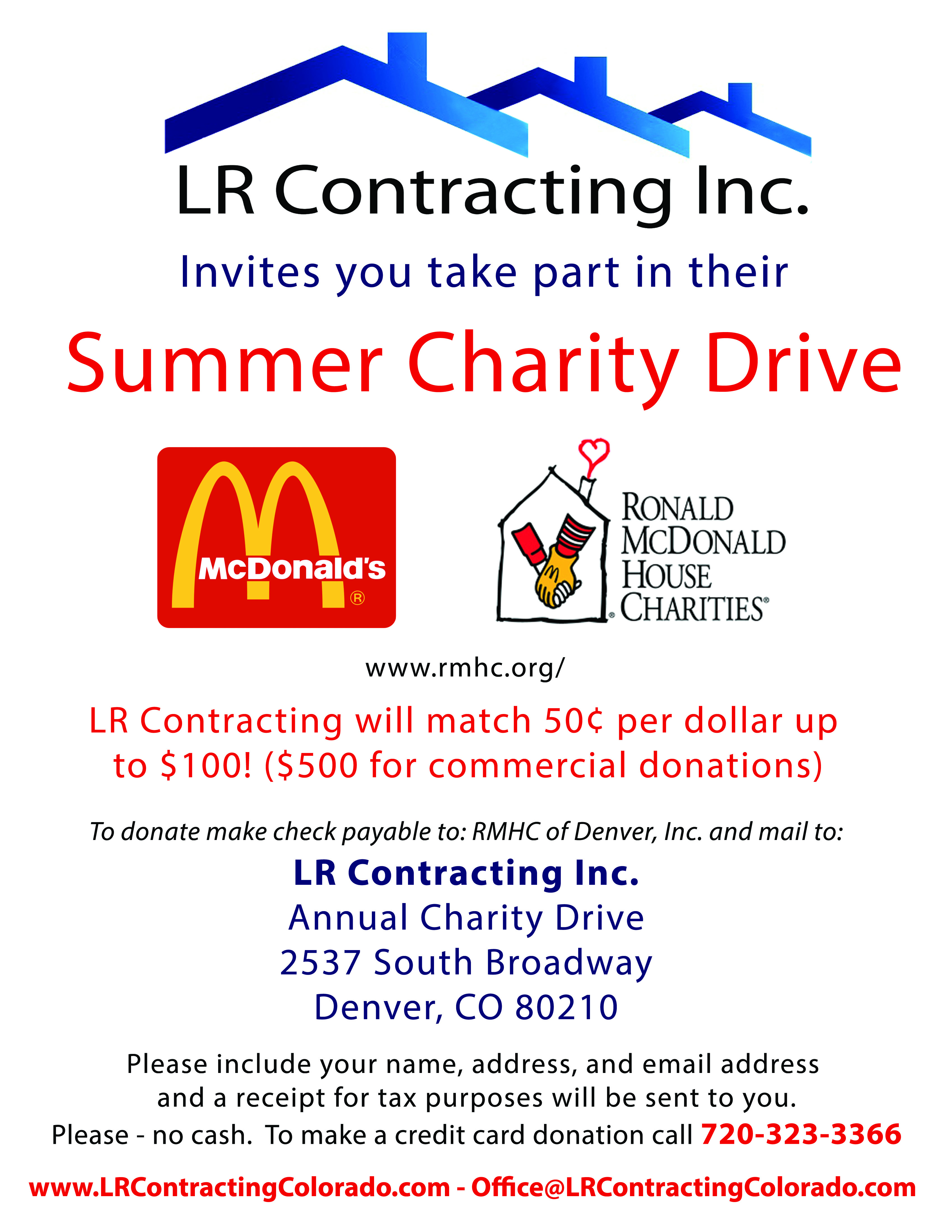 CharityDriveFlyerRMHC  3